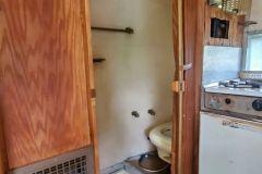 Airstream Bambi 1961 Interieur Dusche WC