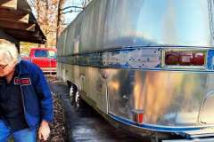 Airstream Excella 1980 Heck links