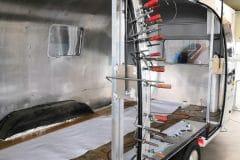 Airstream Mobile Stage - Mobile Bühne Flügeltüren Umbau