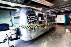Airstream Eventtrailer Branding für GP Ice Race 2