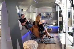 Airstream Mobile Bühne unterwegs für das BVOG Graz Innen