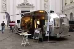 Airstream Mobile Bühne unterwegs mit dem BVOG Graz