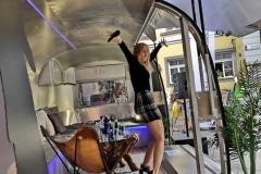 Airstream Mobile Bühne unterwegs mit dem BVOG Graz Innen