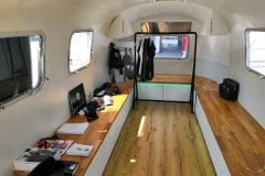 Airstream Mobile Lounge Intersport Messe Heilbronn Innen