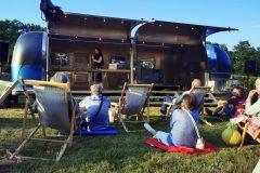 Airstream Mobile Gastro Stage Pückler Karawane in Branitz Deutschland 1