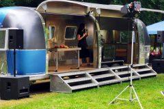 Airstream Mobile Gastro Stage Pückler Karawane in Forst Deutschland 2