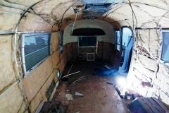 Airstream Safari 1966 Innen Isolierung original gebraucht