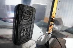 Airstream Safari Mobile Stage Umbau Außen Abdeckung Belüftung