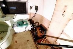 Airstream Safari Umbau Bad