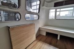 Airstream Tiny House Klapptisch