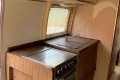 Airstream Ambassador 1976 - Küche