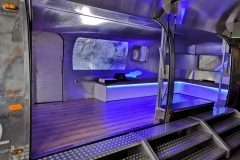 Airstream Mobile Stage Projektion 1
