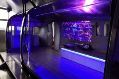 Airstream Mobile Stage Projektion 3