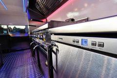 Foodtrailer ETY6 Airstream Lookalike Dunstabzug Grillplatte Fritteuse Edelstahl Innenausbau 1