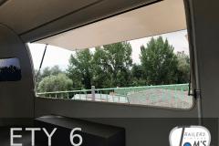 ETY 6 Foodtrailer innen Verkaufsklappe