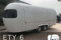 ETY 6 Foodtrailer weiß Verkaufsklappe
