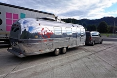 Airstream Mobile Lounge Vermietung Saubermacher On the road to Gnas