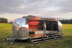 Airstream Mobile Stage Eventtrailer mieten