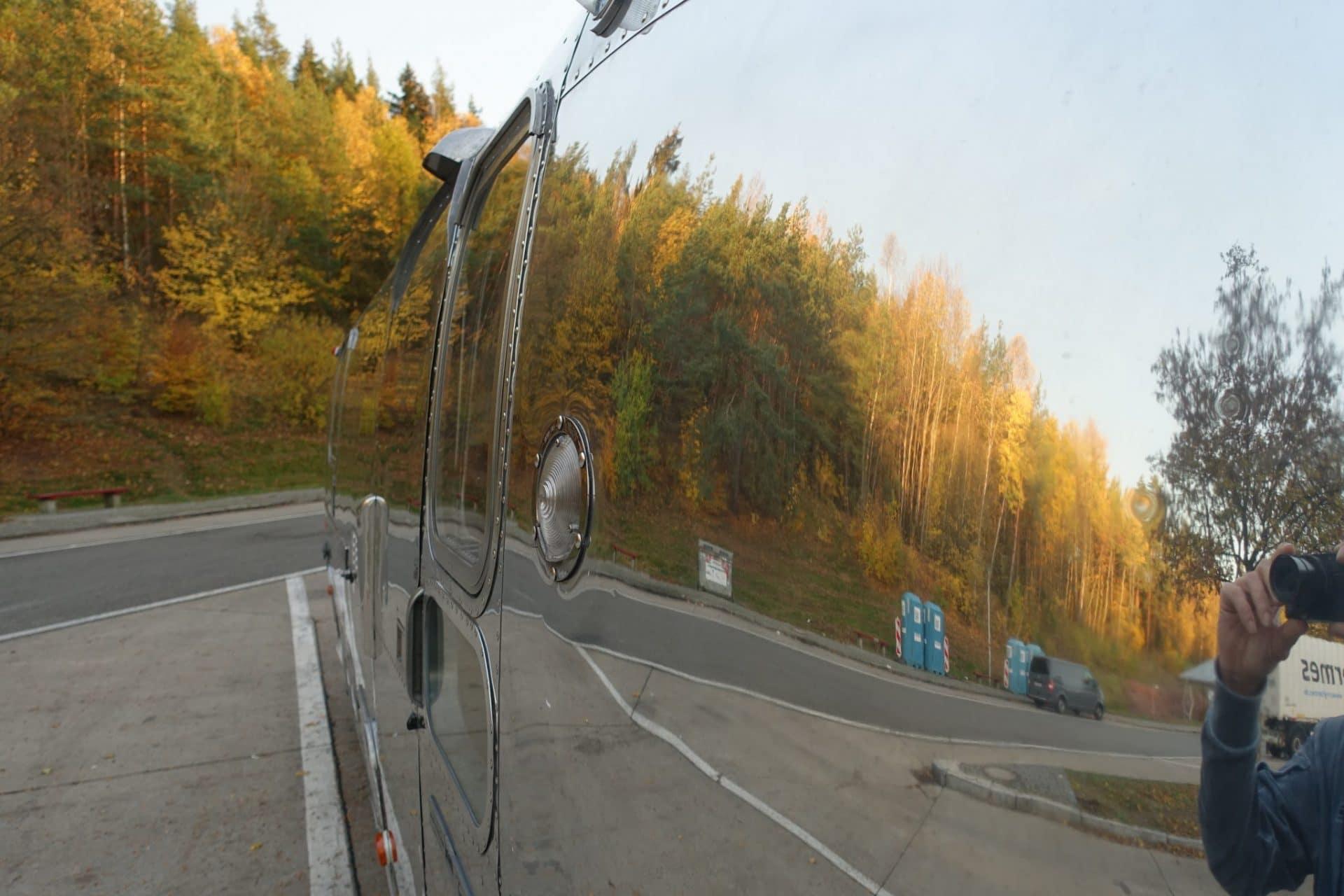 Airstream beim Fotoshooting 2