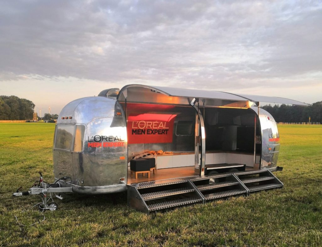 Airstream Mobile Stage for Event 1