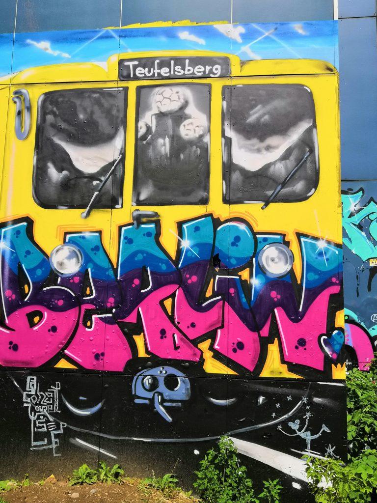 Airstream Adventures Graffity Berlin Teufelsberg
