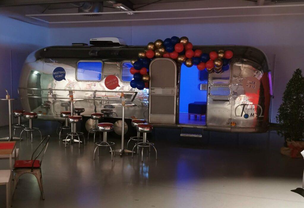 Airstram Mobile Lounge OMX Konferenz Salzburg
