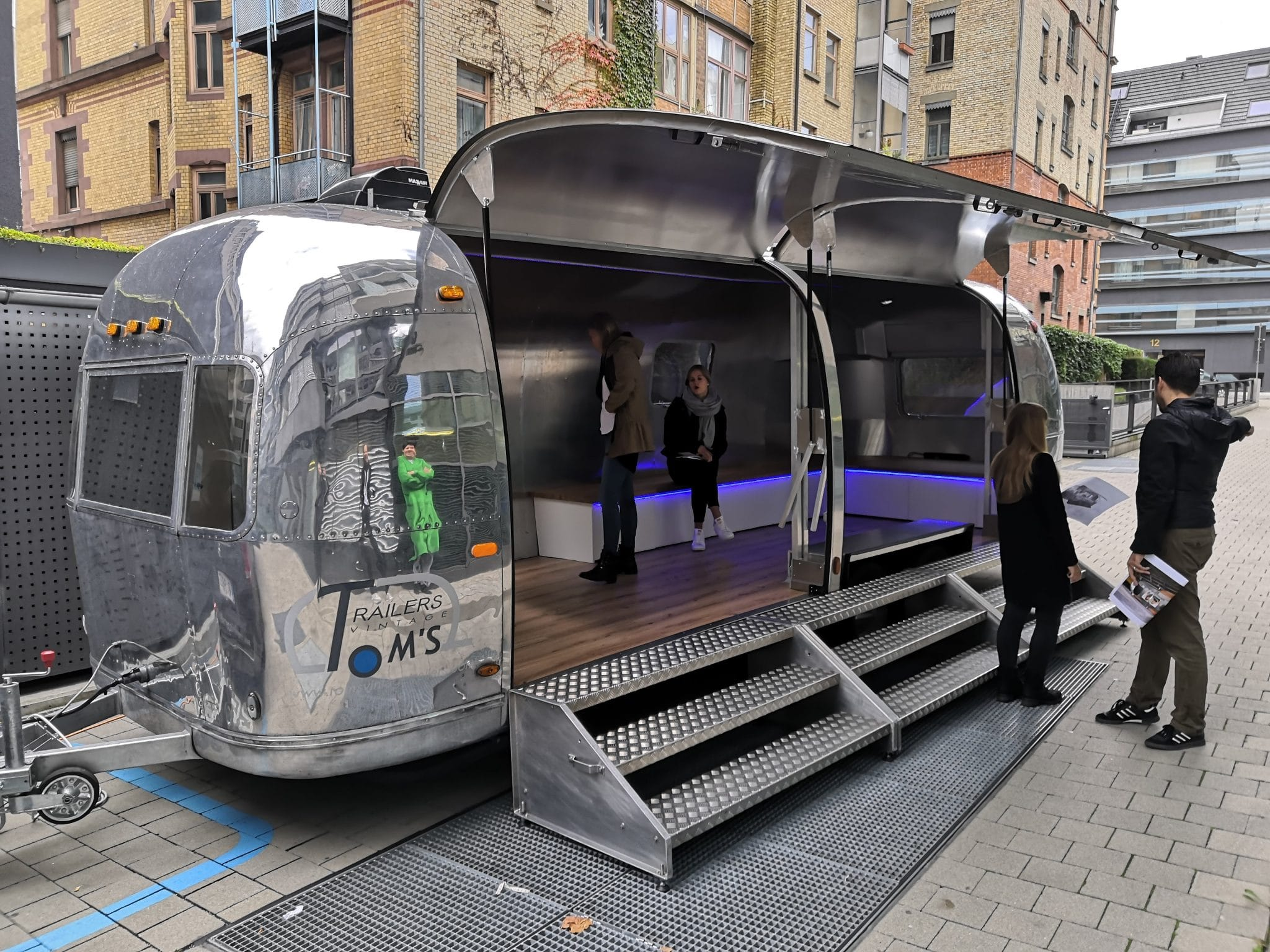 Airstream Mobile Stage for Event 2