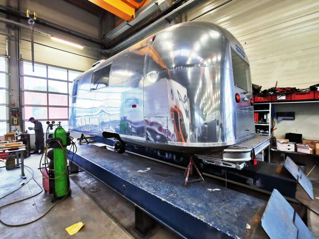 Airstream Safari 1966 EU Achsen Umbau 4