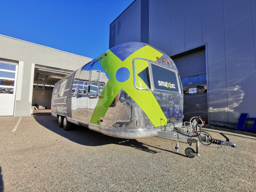 Airstream Mobile Stage Roadshow Branding